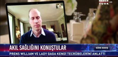 Lady Gaga, Prens William'ı aradı