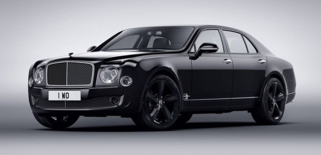 530 beygirlik  Bentley Mulsanne