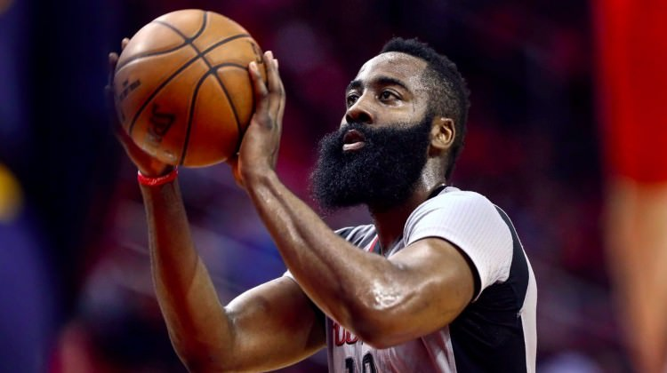 James Harden'dan 16. triple-double