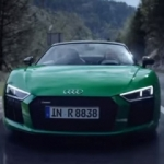 Audi R8 Spyder'dan yeni video!