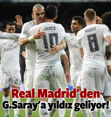 Real Madrid'den G.Saray'a yıldız transferi!
