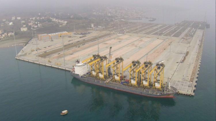 Asyaport lojistik ticaretin kalbi oldu