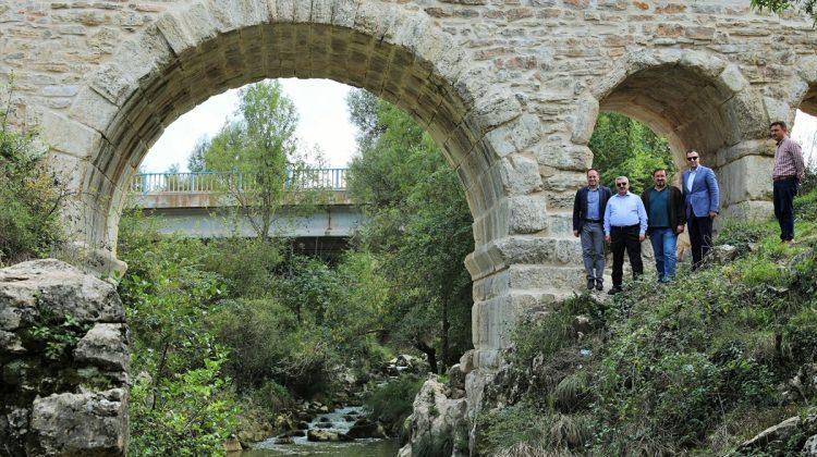Kocaeli haberleri Kocaeli'de 2 bin yıllık Taşköprü restore edildi - 05 Ekim 2017