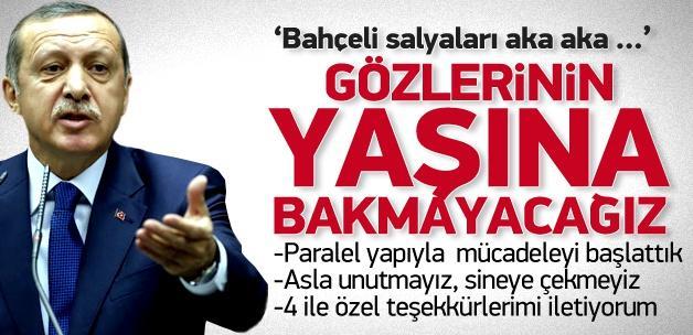 Erdoğan: Paralel yapıyla mücadale başladı!